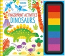 Fingerprint Activities Dinosaurs - Book