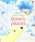 Peep Inside Snowy Places - Book