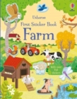 First Sticker Book Farm - Book