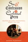 Sin and Confession in Colonial Peru : Spanish-Quechua Penitential Texts, 1560-1650 - Book