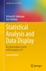 Statistical Analysis and Data Display : An Intermediate Course with Examples in R - eBook
