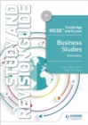 Cambridge IGCSE and O Level Business Studies Study and Revision Guide 3rd edition - Book