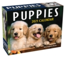 Puppies 2021 Mini Day-to-Day Calendar - Book