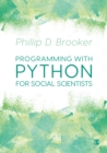 Programming with Python for Social Scientists - Book