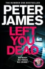 Left You Dead - Book