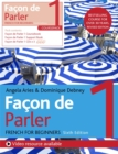 Facon de Parler 1 French Beginner's course 6th edition : Course pack - Book