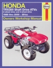 Honda TRX300 Shaft Drive ATVs (88 - 00) - Book