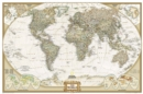 World Executive, Poster Size, Tubed : Wall Maps World - Book