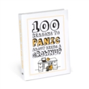 100 Reasons to Panic about Being a Grownup - Book
