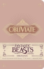 Fantastic Beasts and Where to Find Them: Obliviate Hardcover Ruled Notebook - Book
