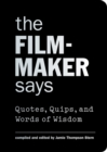 The Filmmaker Says - Book