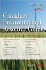 Canadian Environmental Resource Guide, 2015 - Book
