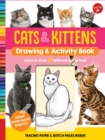 Cats & Kittens Drawing & Activity Book : Learn to Draw 17 Different Cat Breeds - Tracing Paper & Sketch Pages Inside! - Book