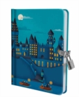 Harry Potter: Hogwarts Castle at Night Lock and Key Diary - Book