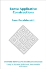 Bantu Applicative Constructions - Book