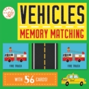 Games on the Go!: Vehicles Memory Matching - Book