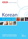 Berlitz Language: Korean for Your Trip - Book
