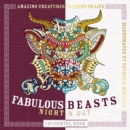 Fabulous Beasts Night & Day Colouring Book - Book