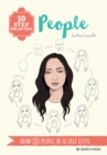 10 Step Drawing: People : Draw 30 People in 10 Easy Steps - Book