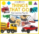 First Learning Things That Go Play Set - Book