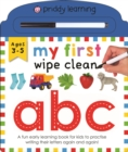 My First Wipe Clean ABC - Book