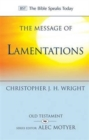 The Message of Lamentations : Honest to God - Book