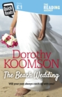 The Beach Wedding - Book