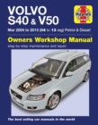 Volvo S40 & V50 Mar 2004-2013 : Complete coverage for your vehicle - Book