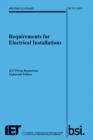 Requirements for Electrical Installations, IET Wiring Regulations, Eighteenth Edition, BS 7671:2018 - Book