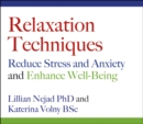 Relaxation Techniques :  Reduce Stress and Anxiety and Enhance Well-Being - eAudiobook