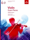 Violin Exam Pieces 2020-2023, ABRSM Grade 6, Score, Part & CD : Selected from the 2020-2023 syllabus - Book