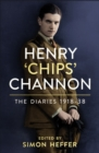 The Diaries of Chips Channon Vol 1 - Book