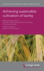 Achieving Sustainable Cultivation of Barley - Book