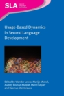 Usage-Based Dynamics in Second Language Development - Book