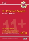 New 11+ CEM Practice Papers: Ages 10-11 - Pack 2 (with Parents' Guide & Online Edition) - Book