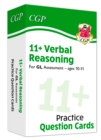 New 11+ GL Verbal Reasoning Practice Question Cards - Ages 10-11 - Book