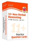 New 11+ GL Non-Verbal Reasoning Practice Question Cards - Ages 10-11 - Book