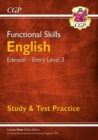 New Functional Skills Edexcel English Entry Level 3 - Study & Test Practice (with Online Edition) - Book