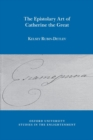 The Epistolary Art of Catherine the Great - Book