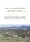 Early Farming in Dalmatia : Pokrovnik and Danilo Bitinj: two Neolithic villages in south-east Europe - Book