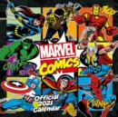 Marvel Comics 2021 Calendar - Official Square Wall Format Calendar - Book