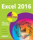 Excel 2016 in Easy Steps - Book