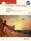 Romantic Clarinet Anthology + CD : 25 Pieces for Clarinet and Piano - Book