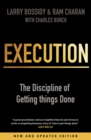 Execution : The Discipline of Getting Things Done - Book