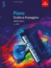Piano Scales & Arpeggios, ABRSM Grade 3 : from 2021 - Book