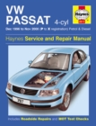 VW Passat 4-Cyl Petrol & Diesel (Dec 96 - Nov 00) P To X - Book