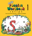 Jolly Phonics Workbook 1 : in Precursive Letters (British English edition) - Book