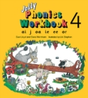 Jolly Phonics Workbook 4 : in Precursive Letters (British English edition) - Book