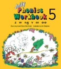 Jolly Phonics Workbook 5 : in Precursive Letters (British English edition) - Book