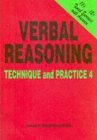 Verbal Reasoning : Technique and Practice No. 4 - Book